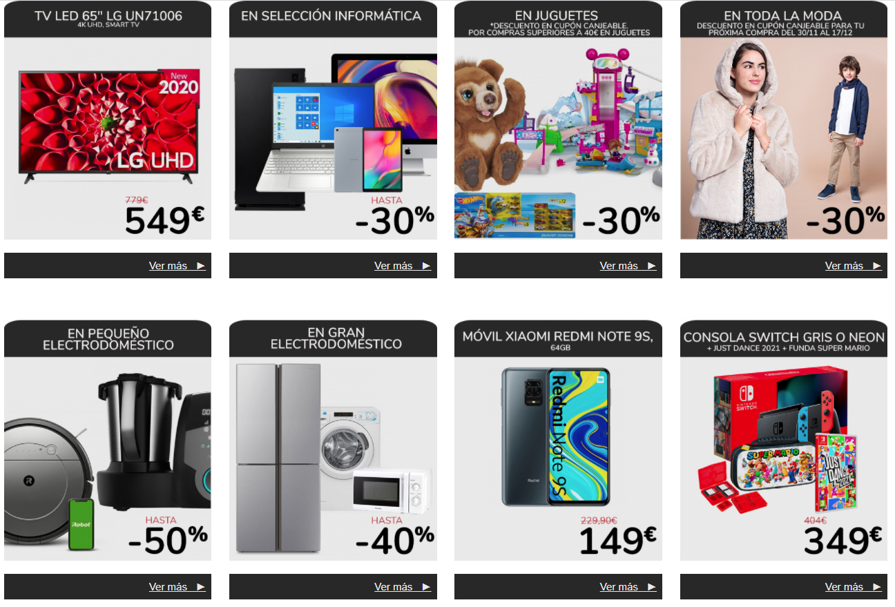 Ofertas Black Friday Carrefour