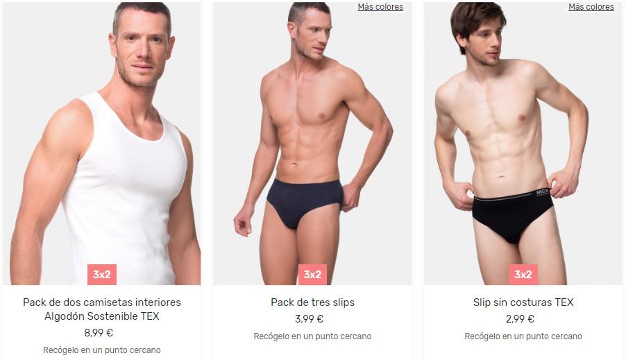 moco Sabueso Línea de metal  Carrefour: 3x2 en ropa interior para hombre y mujer | Noticias De