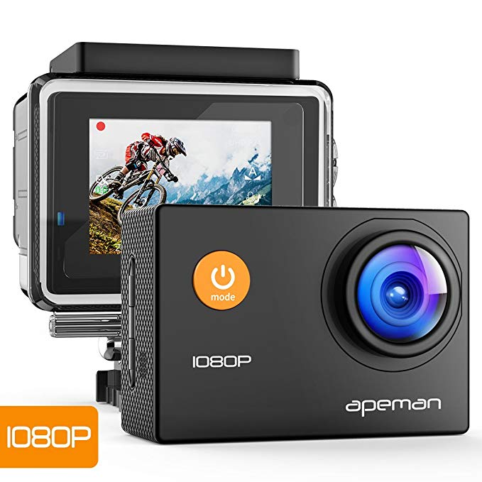 Action CAM 1080P Full HD bajo Agua por 23,99 euros.