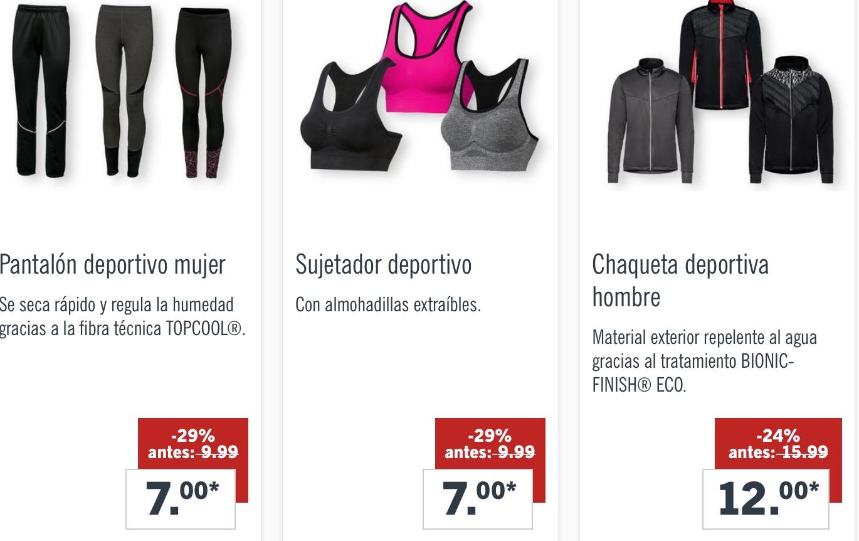 super servicio gran venta diseño moderno Las rebajas de Lidl: hasta un 55% en sus prendas de ropa ...