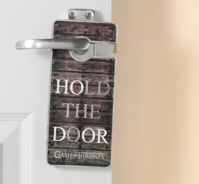 Frase Hold the Door