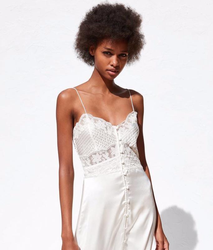 zara tiene un vestido de novia por menos de 30 euros | noticias de