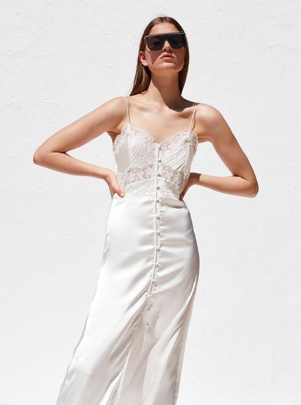 zara tiene un vestido de novia por menos de 30 euros   noticias de