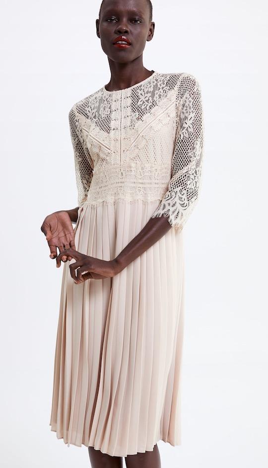 correr zapatos diferentemente clásico 6 vestidos de Zara para vestir perfecta en Semana Santa ...
