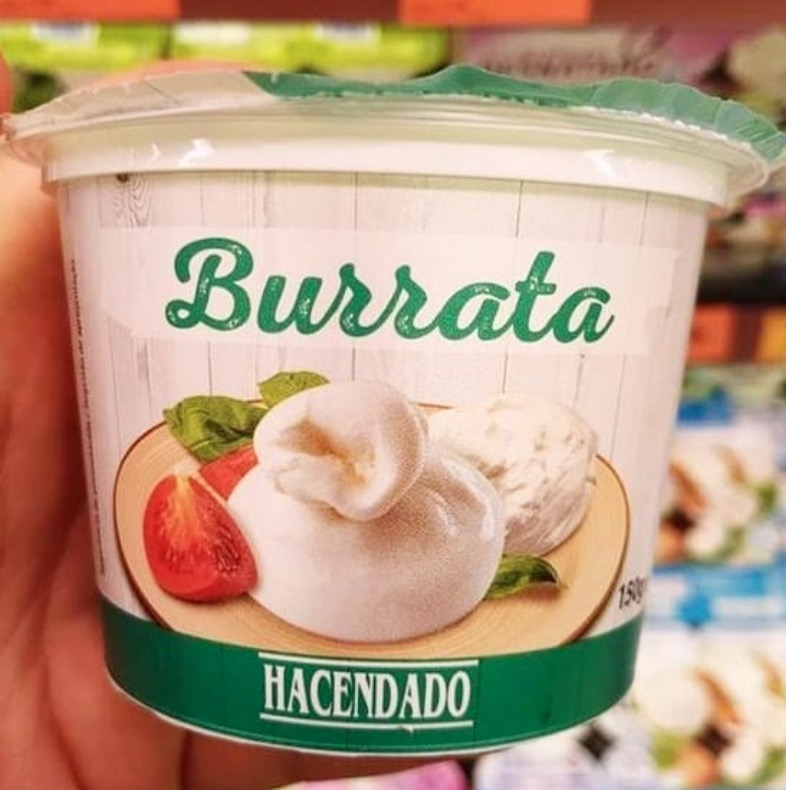 Burrata Mercadona
