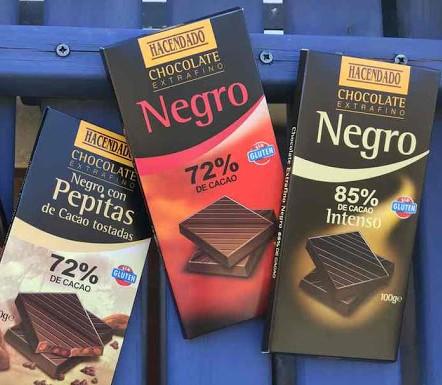 Chocolate 'realfooder' de Hacendado en Mercadona