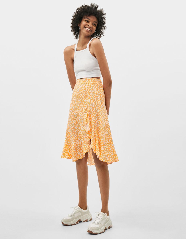 Mitad de precio Precio reducido Promoción de ventas Bershka vende la falda de la primavera que ya se ha agotado ...