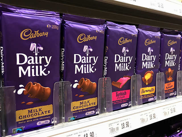 Chocolate de la marca Cadbury