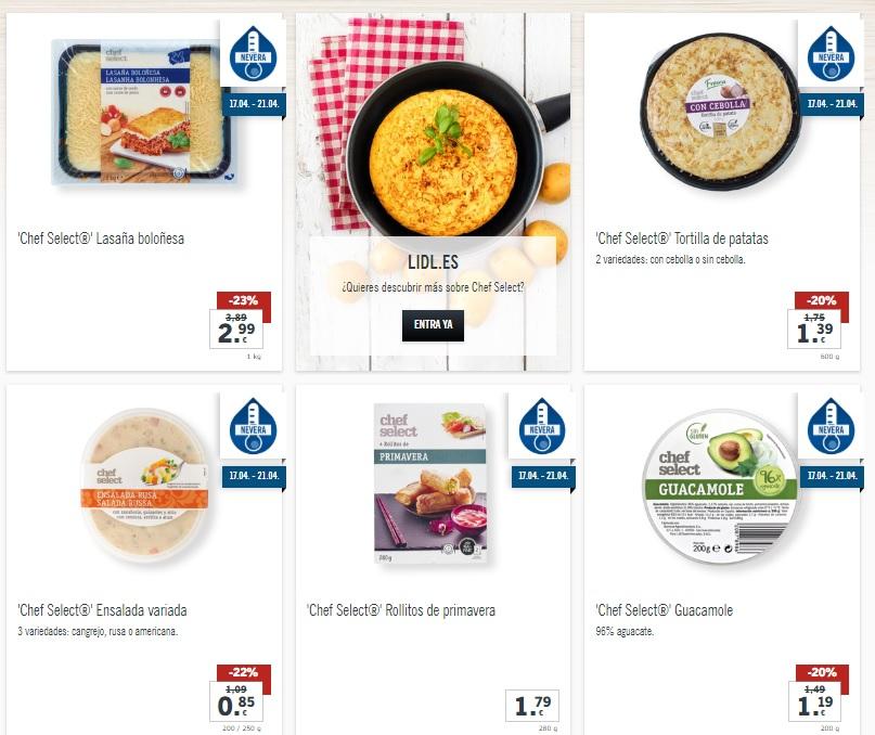 10460e0b40fa Lidl lanza este miércoles la gama 'Chef select' que te va a encantar ...
