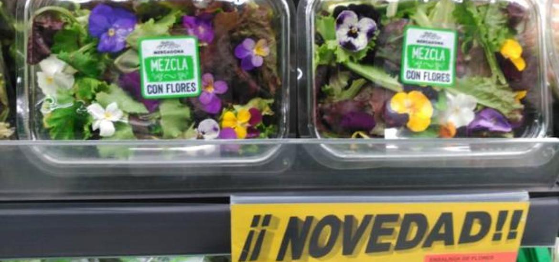 Las Nuevas Ensaladas De Flores De Mercadona Cuando Llegaran A Tu
