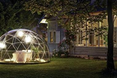 Igloo de cristal de Amazon